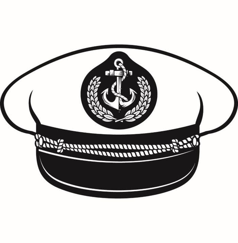 Captain Hat 1 Naval Navy Ship Boat Cap Uniform Clothes Outfit  6b9e9bf629a2