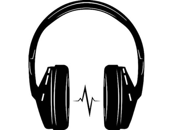 Headphones 3 Music Sound Wave Listening Wireless Bluetooth ...