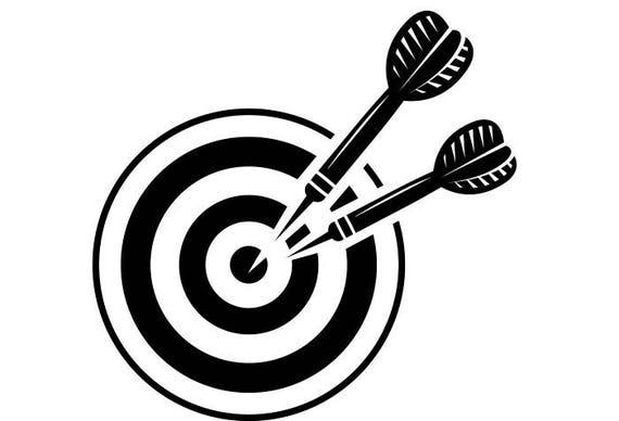 Darten Logo 1 Dartbord Tips Vluchten Board Championship Etsy