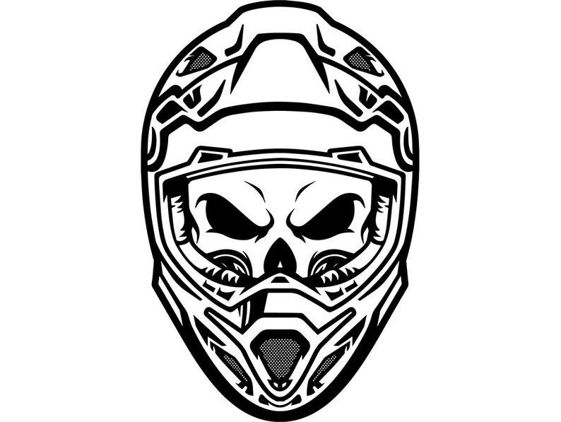 motorcycle racing 1 skull helmet motorcross motocross extreme
