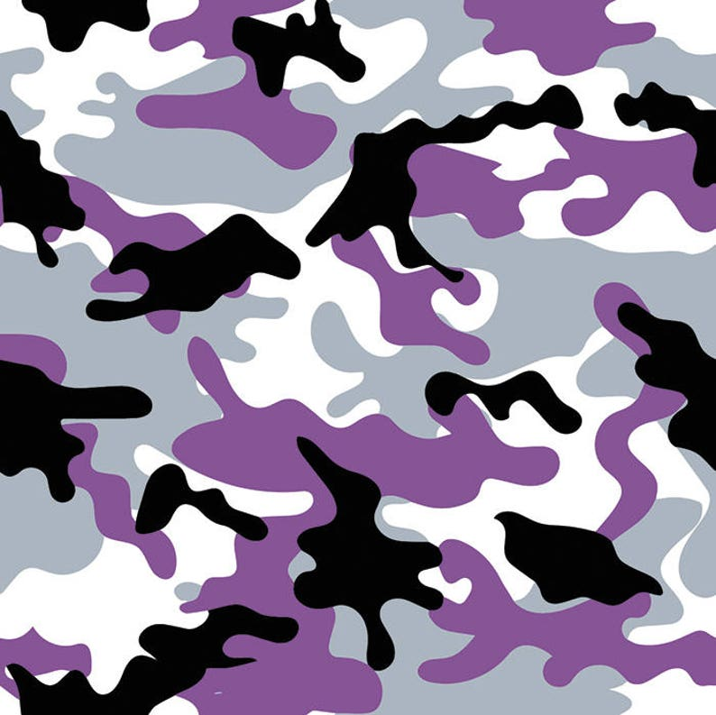 577d82444c Purple Camo 1 Army Camouflage Seamless Pattern Military War