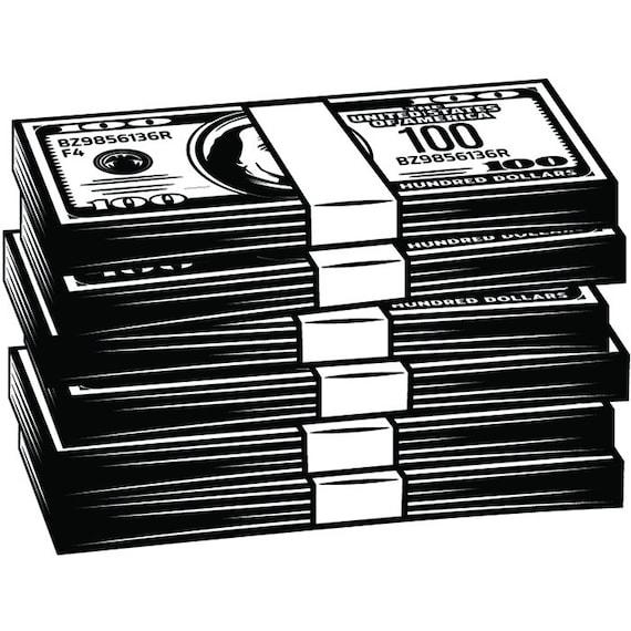 Download Stack Bills Cash Svg Png Icon Free Download Money - Making ...
