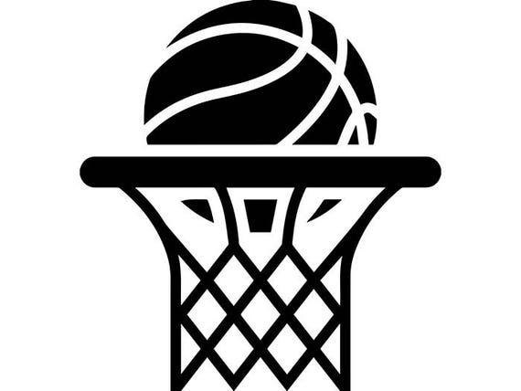Basketball Hoop 6 Backboard Goal Rim Basket Ball Net ...