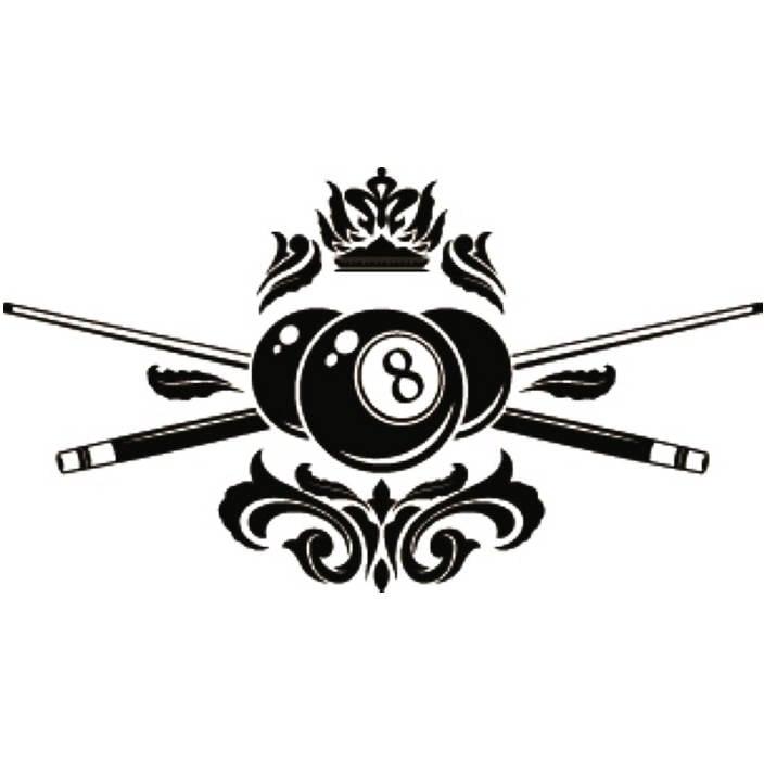 Fatso's Billiards Logo Concept   Bilhar   Billiards Logo