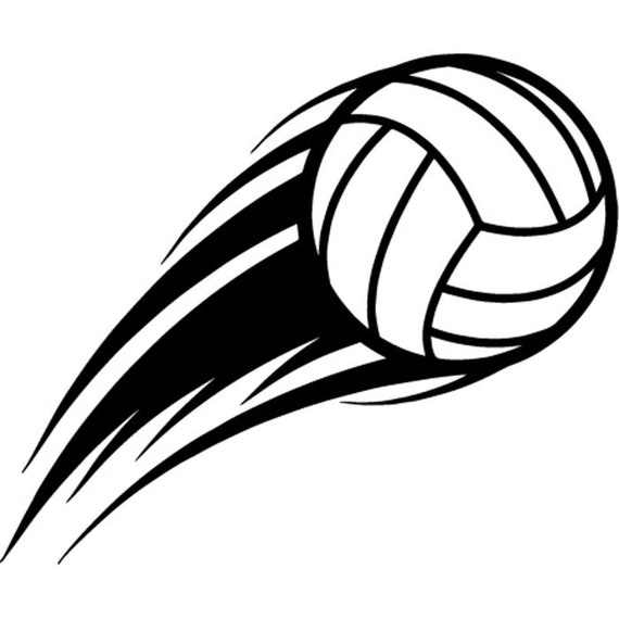Volleyball Ball 7 Action Motion Flying Player Sports Team ...