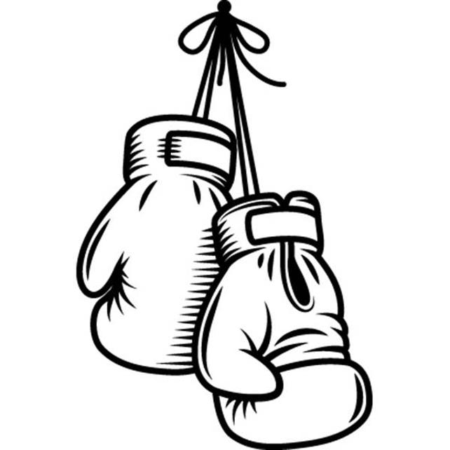 boxing gloves 1 fight fighting mma mixed martial art boxer etsy rh etsy com boxing glove clipart outline boxing glove clipart outline
