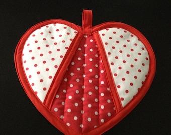 Have a Heart Potholder Pattern by Sew4Fun Australia