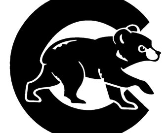 Chicago Cubs Vinyl Decal