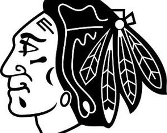 Chicago Blackhawks Vinyl Decal