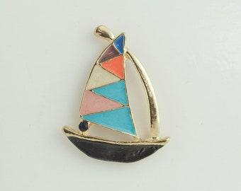 Boat Needleminder / Boat enamel needle minder