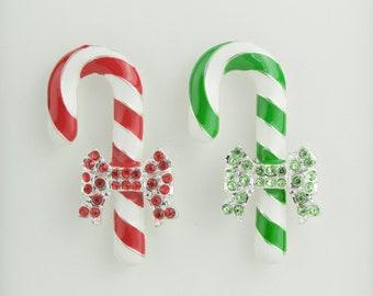 Christmas Candy Cane Needleminder / Christmas Cane Needle Minder