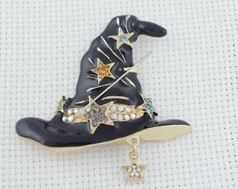 Witches Hat Needleminder / Black Hat Minder