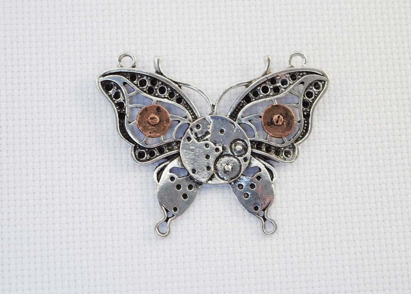 Steampunk Butterfly Needleminder / Steampunk Needleminder ...