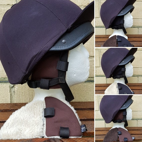 RIDING HAT EAR WARMERS//SNOOD//NECK WARMER SET VARIOUS COLOURS