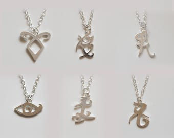 The ShadowHunters inspired Rune Necklaces 8b9d098858e86
