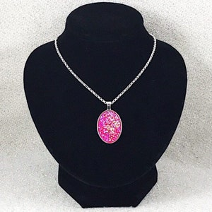 Pink Rock Candy Children/'s Jewelry Girl Gift Druzy Jewelry Colorful Necklace Girl Jewelry Druzy Necklace Agate Jewelry