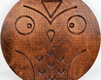 Hanging Wall Owl // Children's Decor