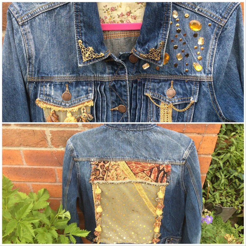 Golden Glory denim jacket