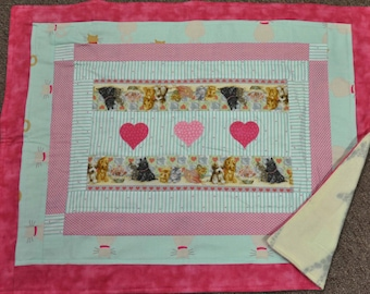 Puppy Love Snuggle Quilt
