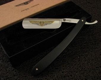 Brandnew 5/8 and 6/8 DREITURM Solingen Rasiermesser Straight Razor by J.A.Schmidt & Sons Rasoir Rasoio Navaja Afeitar