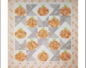 Turning Up Pumpkins Quilt Pattern - SOTG031 - Sew On The Go - Michelle Renee Hiatt