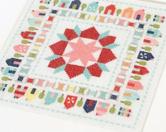 Stitchville Cross Stitch Pattern - TB 245 Thimble Blossoms - Camille Roskelley
