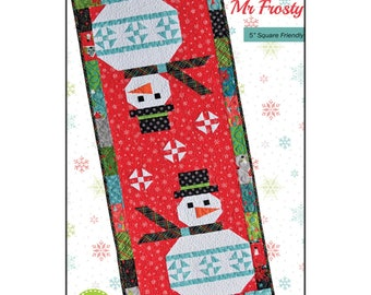 Mr. Frosty Quilt Pattern - Heather Peterson - ANK335