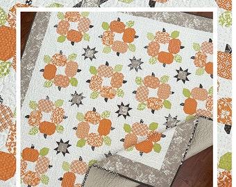 Autumn Spice Quilt Pattern - The Pattern Basket - Margaret Languedoc- TPB 2103 Pattern Basket