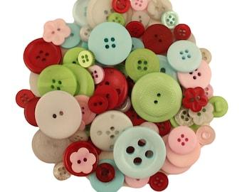 The Merriest - Button BOnanza - Buttons Galore - bugbb92