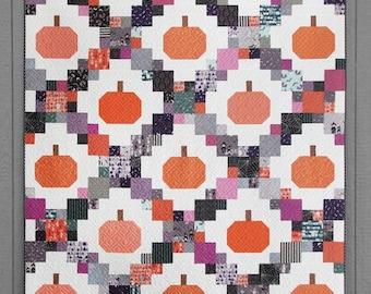 Pumpkin Patches Quilt Pattern - Cluck Cluck Sew - CCS204