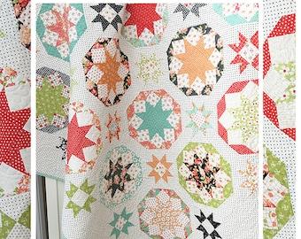 Fireworks Quilt Pattern - TPB 1903 - The Pattern Basket - Margot Languedoc Designs