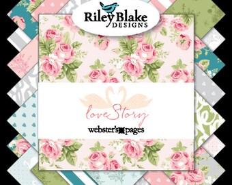 Love Story - 18 Fat Quarter Bundle - Webster's Pages - Riley Blake Designs