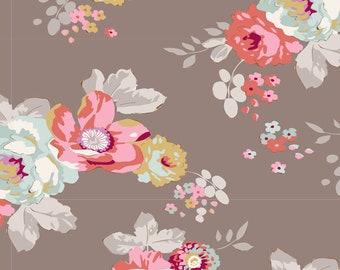"Tilda Maple Farms Pauline Umber Cotton Fabric - Tilda - 100268 - 26"" piece"