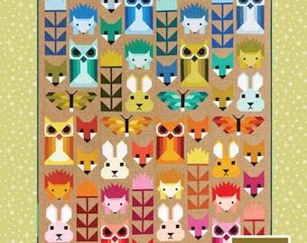 Fancy Forest Quilt Pattern - EH 023 Patterns By Elizabeth Hartman