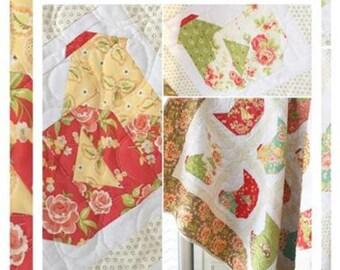 Nesting Quilt Pattern - The Pattern Basket - TB1802 - Margot Languedoc