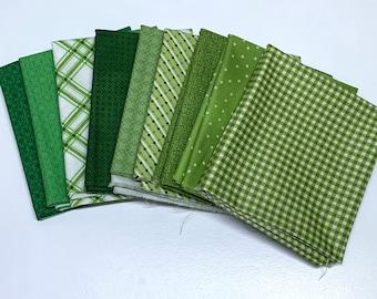 Green Fat Quarter Bundle