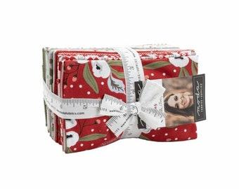 Christmas Morning 9 x 22 Cut 5140F8 Moda Precuts - Fat Eigth Bundle - Lella Boutique