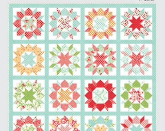 Swoon Sixteen Quilt Pattern - TB188- Thimble Blossoms - Camille Roskelley