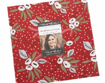 Christmas Morning Layer Cake® 5140LC Moda Precuts - Lella Boutique