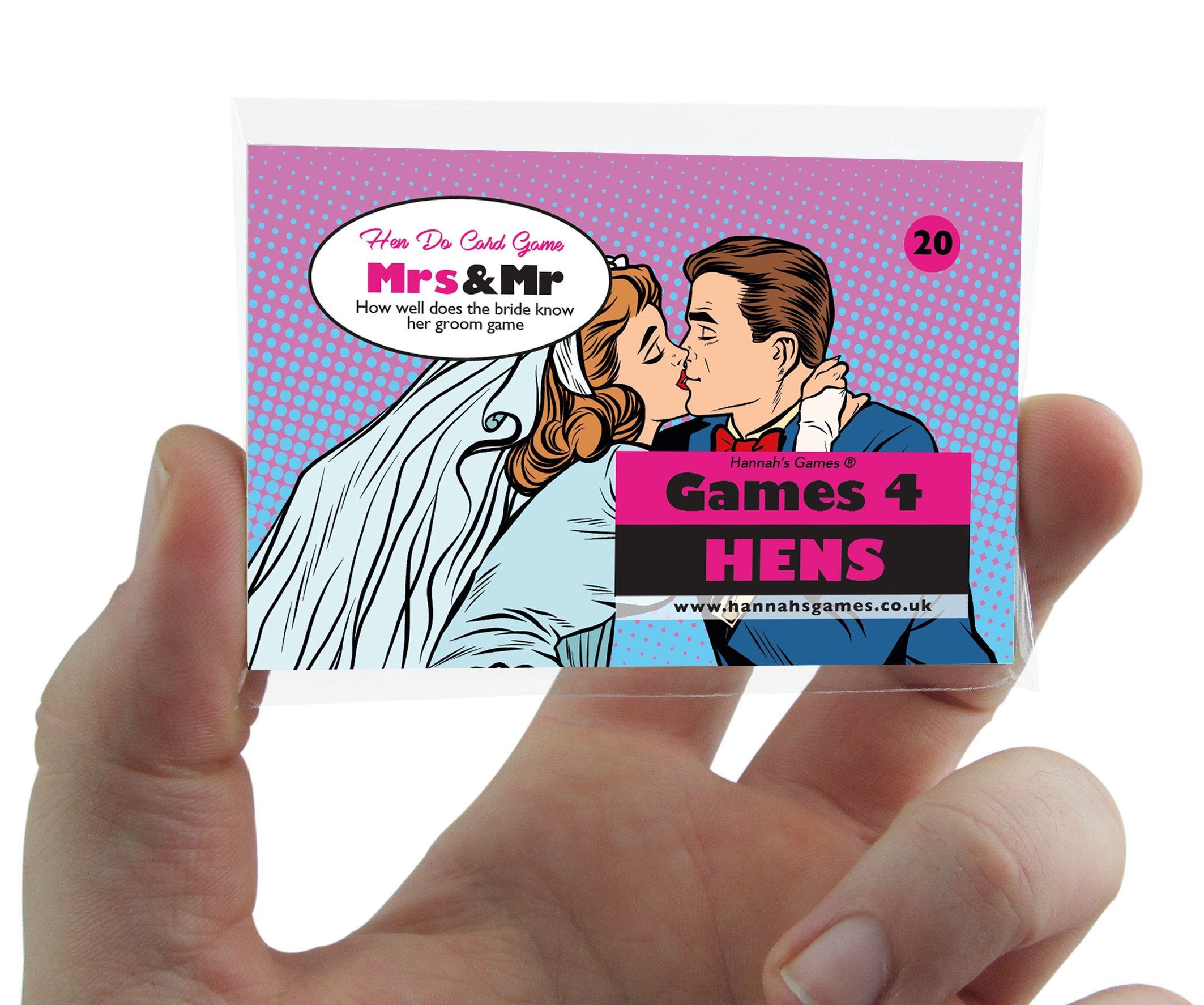Mr And Mrs Hen Party Game Printable Handheld Bachelorette