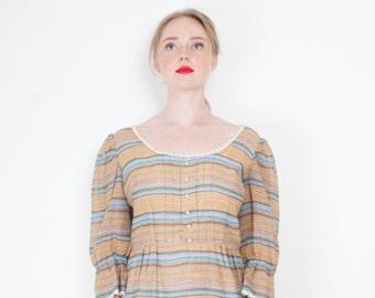 1970s Striped Dress
