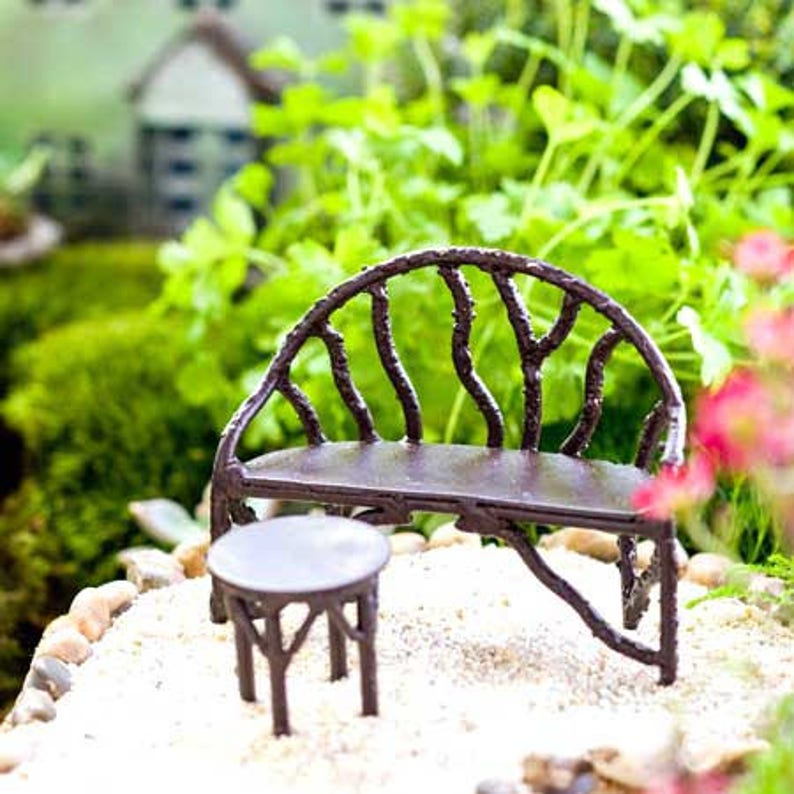 Primrose Fairy Door Miniature Dollhouse FAIRY GARDEN Accessories