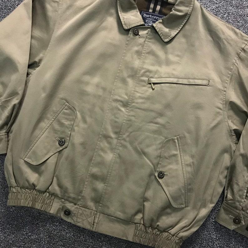 c4b3a9e4dcd Vintage Burberrys Harrington Jacket / Nova check lining | Etsy