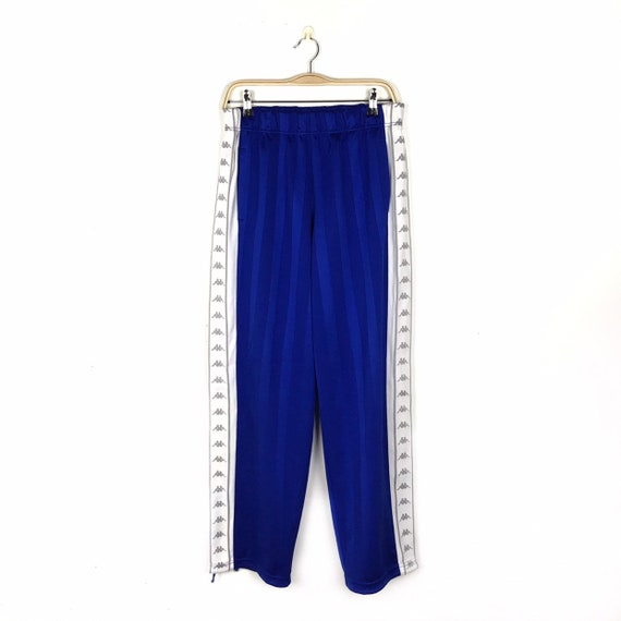 KAPPA Pants Vintage 90s Embroidered Side Tape Logo