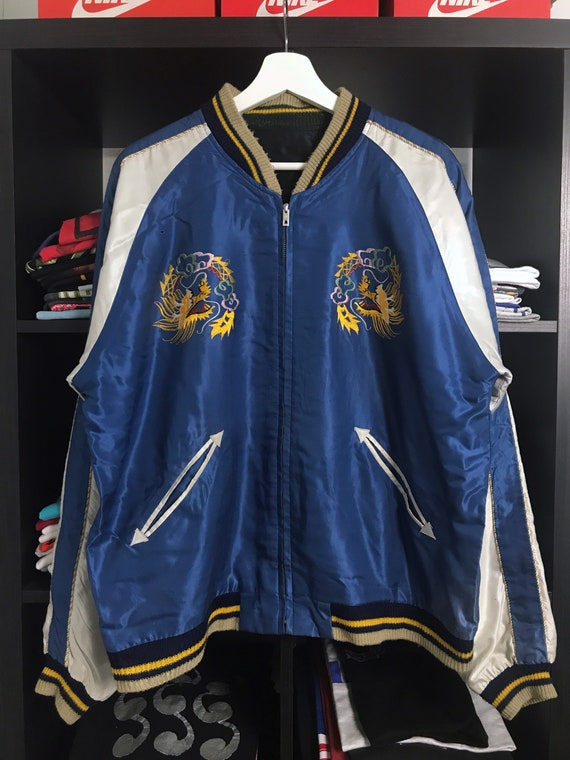 Vintage 90s Toyo Enterprise Sukajan Souvenir Jacke