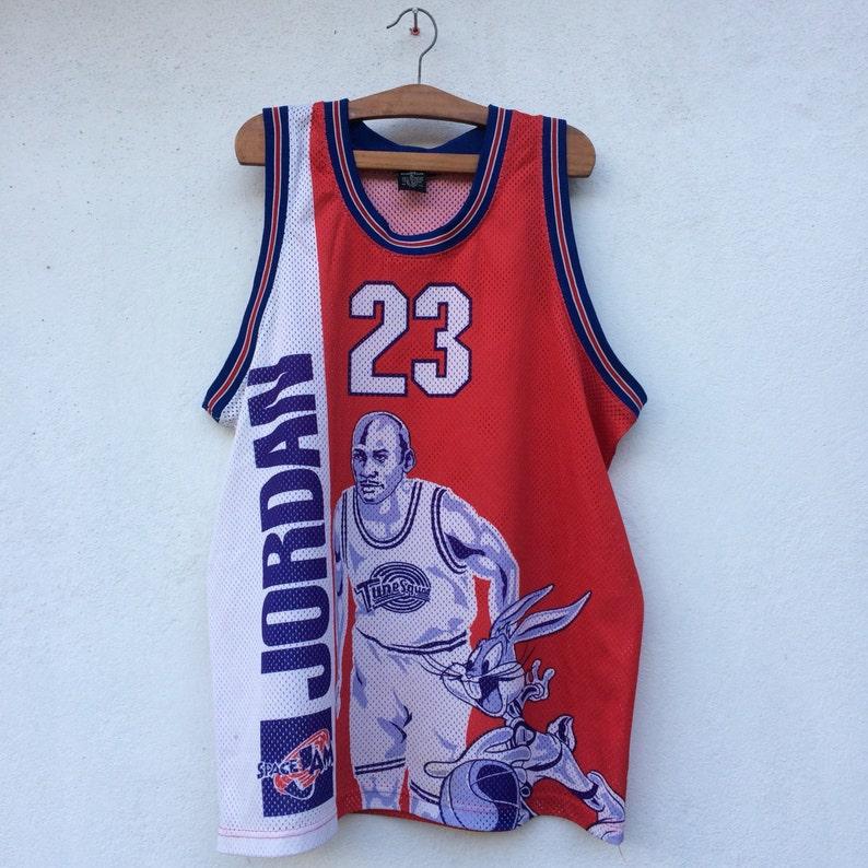 45862a3fb299f6 Vintage 90s Michael Jordan X Bugs Bunny Tune squad Spacejam