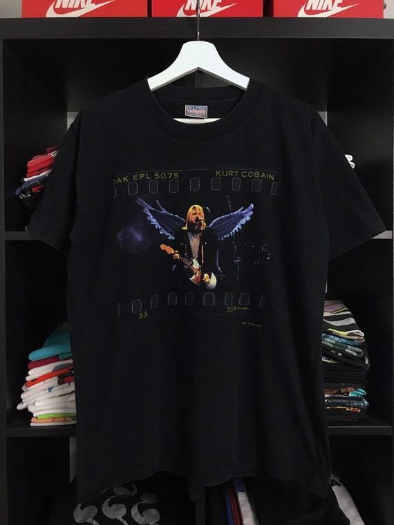 Vintage 1999 Kurt Cobain Nirvana Band T-shirt / Vi