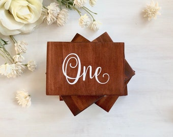 Wedding Table Numbers   Wooden Table Numbers   Wedding Table Decorations   Table Numbers Wedding   Wooden Table Numbers  Made in Australia