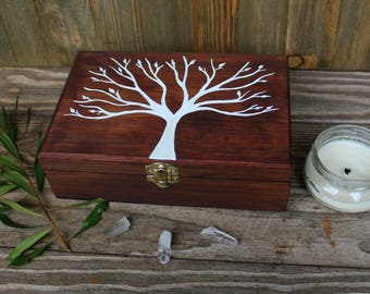 Tree jewelry box Etsy