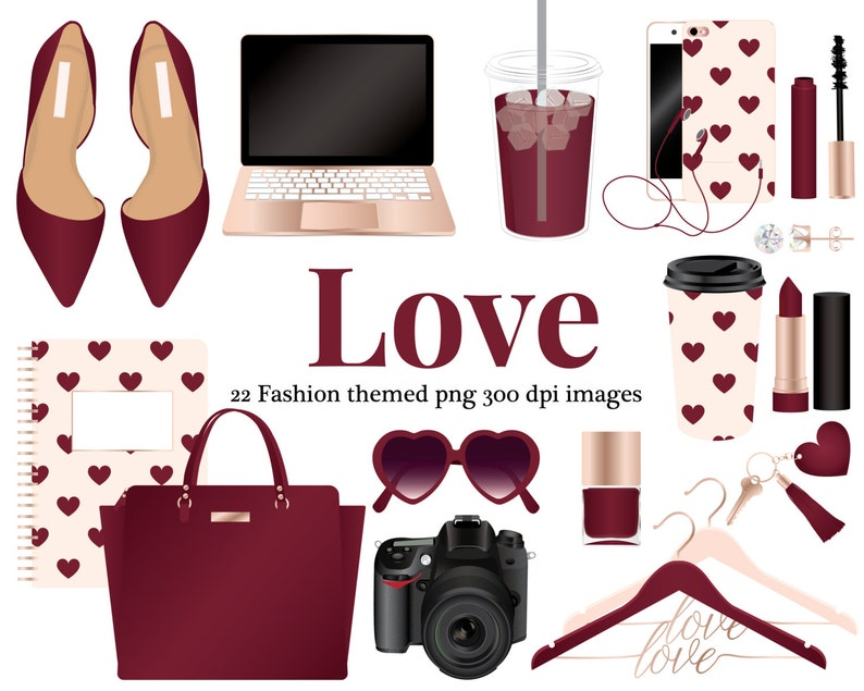 ea902f3d944be1 Love Fashion clipart rose gold Phone camera computer